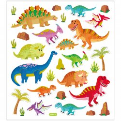 Stickers dinosaurie